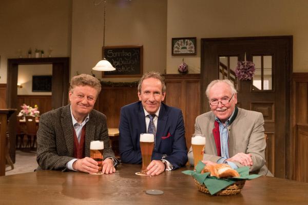 Bild 1 von 5: Von links: Wolfgang Heckl, Tilmann Schöberl und Dieter Hanitzsch.