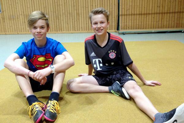 Bild 1 von 4: Luis (li.) und sein Freund Lasse (re.)