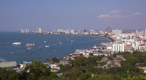Bild 1 von 3: Pattaya, die Stadt am Golf von Thailand, ist inzwischen das Zuhause von 10.000 Deutschen.