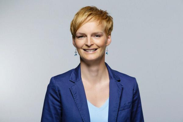 Bild 1 von 1: Alexandra Zielinski, Moderatorin für \