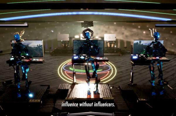 Bild 1 von 3: Lawrence Leks Science-Fiction-Filme sind die billigsten der Welt! Mit 3D-Computergrafik-Software dreht der deutsch-malaysische Architekt Dystopien, in denen \