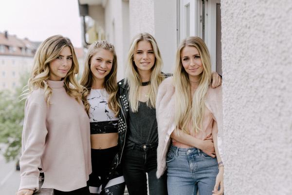 Bild 1 von 2: v.l.n.r.: Luisa, Roxi, Filiz, Sophia
