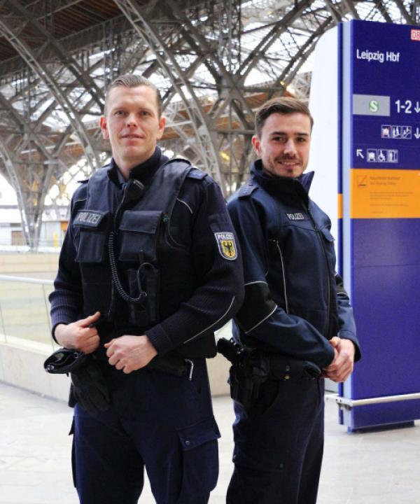 Bild 1 von 4: Bundespolizei Leipzig