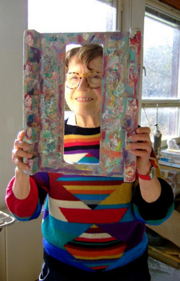 Bild 1 von 1: SWR Fernsehen MARIA LASSNIG - DU ODER ICH, am Sonntag (21.05.17) um 10:00 Uhr.Maria Lassnig (1919-2014) gehört zu den bedeutendsten Künstlerinnen des 20. Jahrhunderts. Sie war eine Künstlerin, die sich kompromisslos allen Strömungen widersetzte. Die unbändige Energie ihrer Bilder bewegt die Kunstwelt. Im Zentrum ihrer Malerei steht der Körper, dessen Empfindungen sie schonungslos erforscht. Sie malt nicht, was sie sieht, sondern was ihr Körper fühlt. Weiteres Bildmaterial finden Sie unter www.br-foto.de.