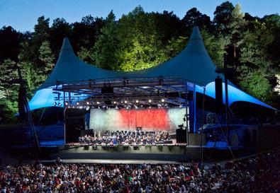 Die Berliner Philharmoniker live in der Waldb�hne 2016