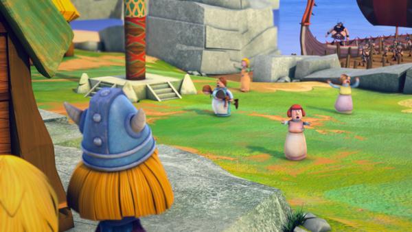 Bild 1 von 6: Oh nein! Der schreckliche Sven überfällt Flake!