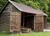 Halbe Hütte