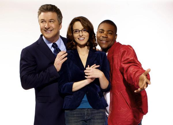 Bild 1 von 3: 1. Staffel (v.l.): Jack Donaghy (Alec Baldwin), Liz Lemon (Tina Fey) und Tracy Jordan (Tracy Morgan)