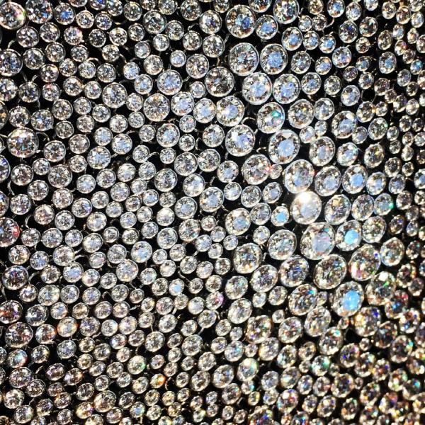 Bild 1 von 4: Tiffany-Diamanten-Halskette.