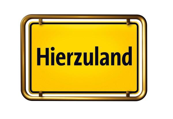 Bild 1 von 1: Hierzuland - Logo