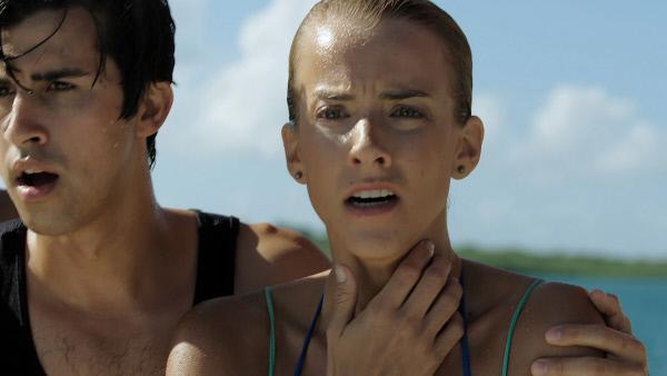 Bild 1 von 6: Ram (Chris Costanzo, l.) und Cait (Lindsay Sawyer, r.).