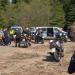 Jagd auf Motorrad-Raser