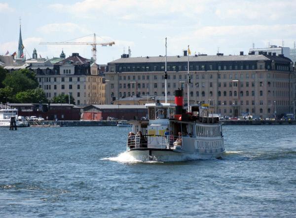 Bild 1 von 6: Die Fähren sind oft die schnellste Verbindung zwischen Stockholms Inseln.