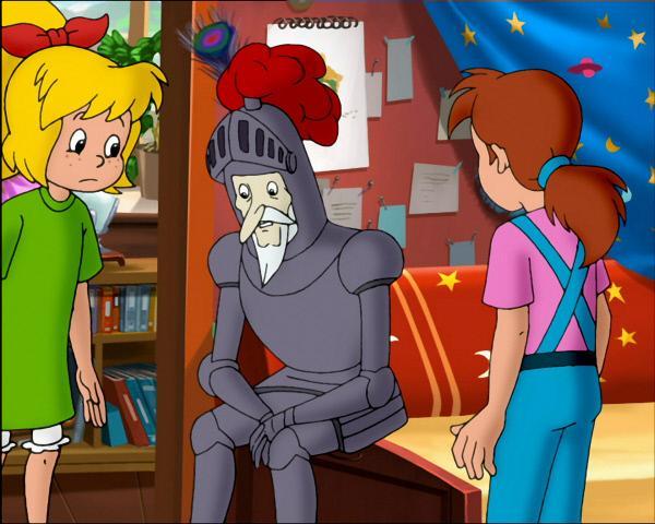 Bild 1 von 11: Ein trauriges Rittergespenst.