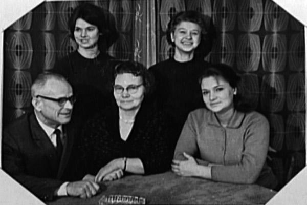 Bild 1 von 5: Familienfoto der Kasakows.