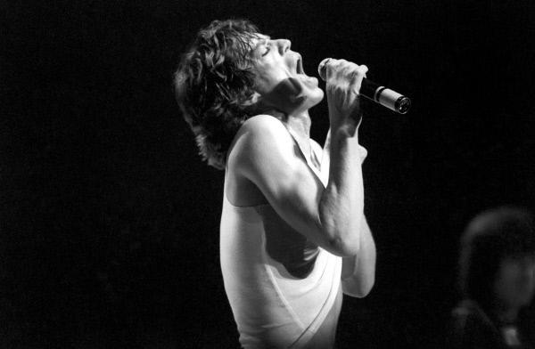 Bild 1 von 6: Mick Jagger, seit 1962 Frontman der Rolling Stones