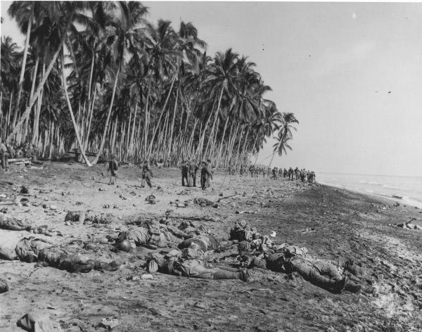 Bild 1 von 1: Schlacht um Guadalcanal: erbitterte Gefechte in den Tropen.