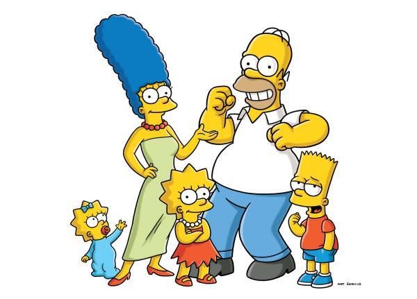 Bild 1 von 18: (21. Staffel) - Die Simpsons sind eine nicht alltägliche Familie: (v.l.n.r.) Maggie, Marge, Lisa, Homer und Bart ...