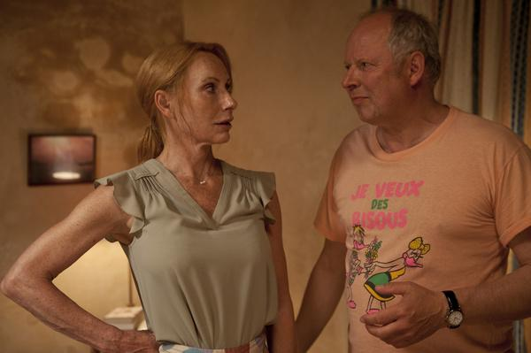 Bild 1 von 12: Gundula (Andrea Sawatzki) und Gerald (Axel Milberg) wollen sich eigentlich auf Mallorca erholen, streiten sich aber ständig.