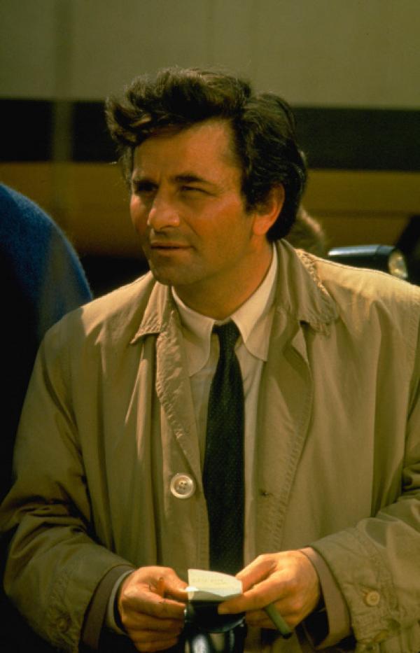 "Bild 1 von 2: ""Columbo"" (Peter Falk)"