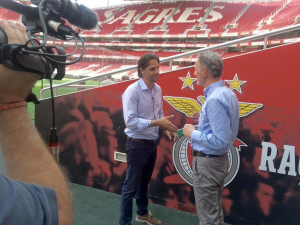 Bild 1 von 4: ORF-Korrespondent Josef Manola über Portugals Weltklasse-Fussball: WELTjournal-Stadtporträt ´Mein Lissabon´.