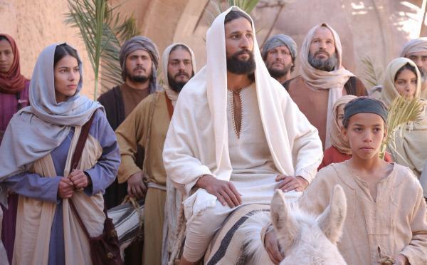 Bild 1 von 1: Jesus' Einzug in Jerusalem.
