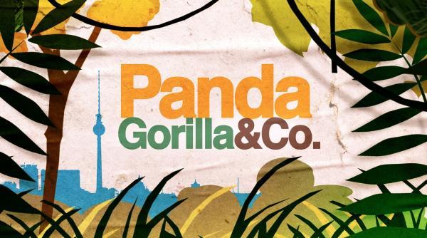 Bild 1 von 1: Panda, Gorilla & Co. - Logo