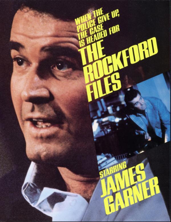 Bild 1 von 8: Detektiv Rockford - Plakat