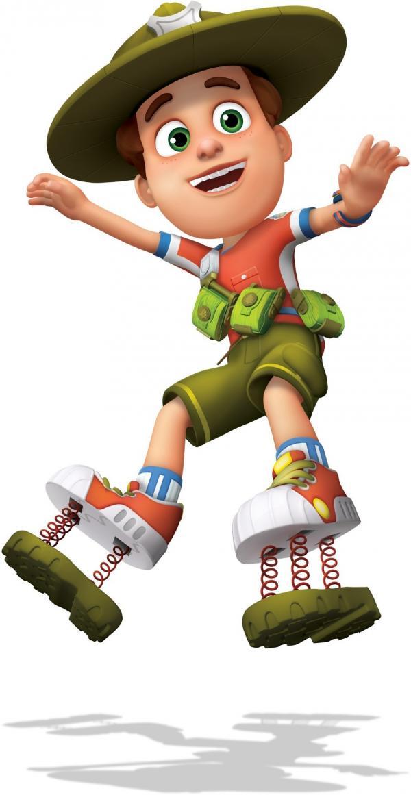 Bild 1 von 23: Rob ist ein echter Nachwuchs-Ranger und hilft voller Tatendrang im Tierpark seiner Eltern mit. Wenn es Probleme oder Abenteuer zu meistern gilt, kann er sich vor allem auf seine Freunde und Familie verlassen. Aber auch seine Ausrüstung ist sehr praktisch!