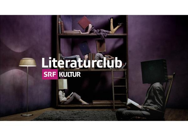 Bild 1 von 2: Literaturclub - Logo