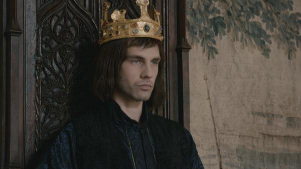 Bild 1 von 4: Philipp VI. Er trägt die Krone.
