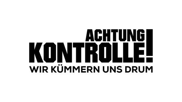 Bild 1 von 1: Achtung Kontrolle! Wir kümmern uns drum - Logo