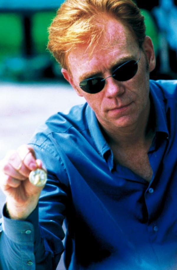 Bild 1 von 7: David Caruso als Horatio Caine, Chef des CSI Miami-Teams.