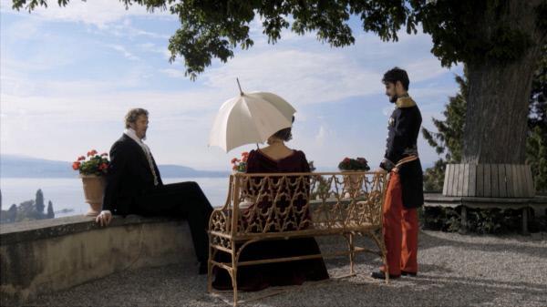 Bild 1 von 1: Fürst Pückler (Stephan Grossmann) trifft Louis Napoleon III auf dem Schloss Arenenberg.