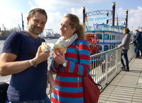 Bilder zur Sendung: Tamina & Uwe in Hamburg