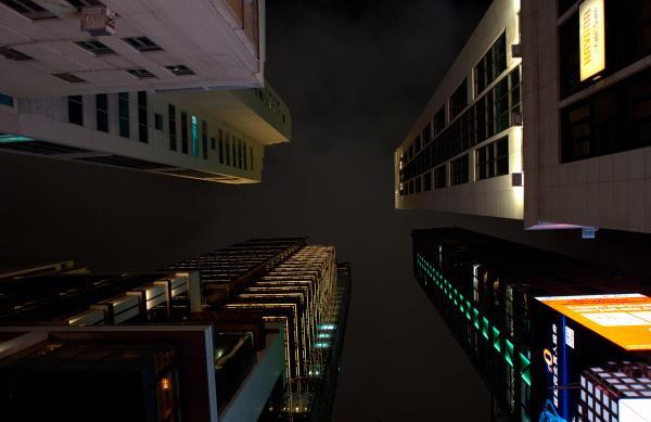 Bild 1 von 3: Über sieben Millionen Menschen leben in Hongkong auf 1100 Quadratkilometern