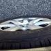 Schmutzige Reifen