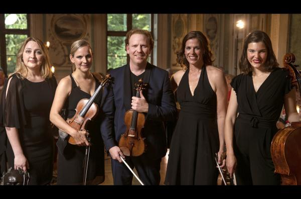 Bild 1 von 4: Daniel Hope tritt mit dem Quartett \