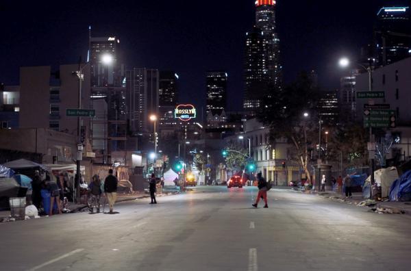 Bild 1 von 5: Vieles am Los Angeles von heute erinnert an den von Syd Mead bereits 1982 für den Film \