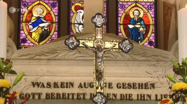 Bild 1 von 2: Innenaufnahme der Johanneskirche in Eltville-Erbach.