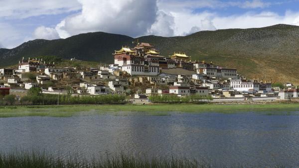 Bild 1 von 3: Songzanlin Kloster in Shangrila