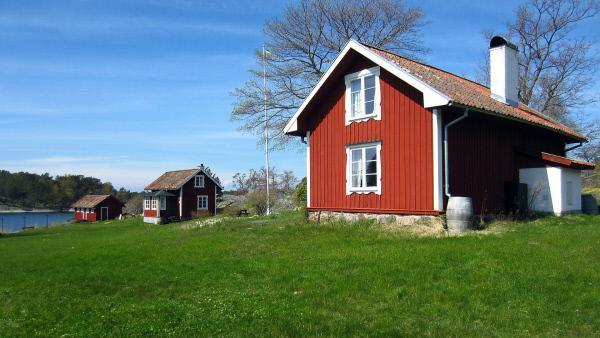 Bild 1 von 4: Schweden wie im Bilderbuch: Schären vor Stockholm.