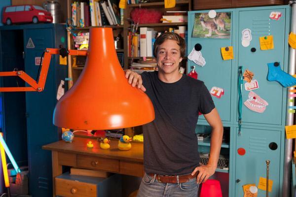 Bild 1 von 1: Tobi in seiner Checker-Bude