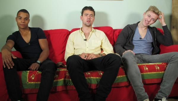 Bild 1 von 1: Von links: Jerome, Melchior und Max.