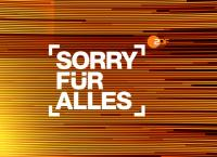 Sorry für alles