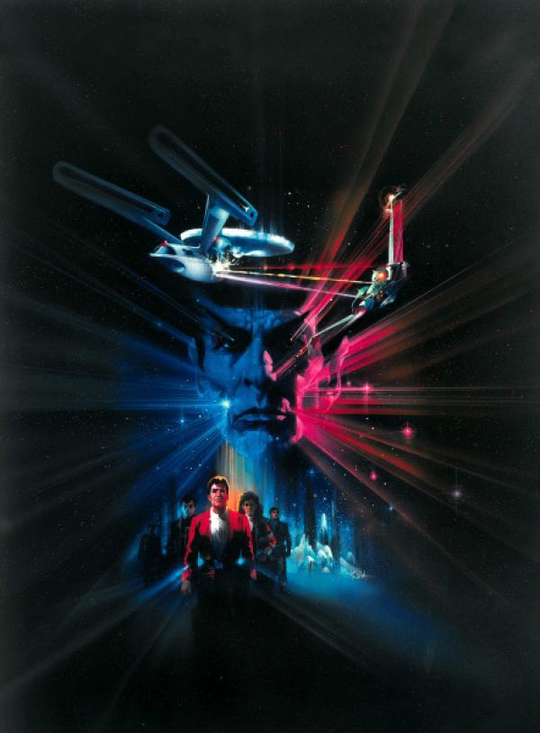 Bild 1 von 7: Die Enterprise ist auf dem Rückweg zur Basis - ohne Mr. Spock, der im Kampf um die Wunderwaffe \