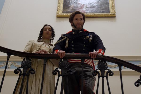 Bild 1 von 11: Gregor MacGregor (Adam Morgan) mit seiner südamerikanischen Gattin.