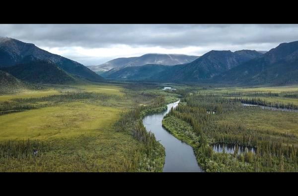 Bild 1 von 2: Im äußersten Nordwesten Kanadas, an der Grenze zu Alaska, liegt der Yukon, einer der letzten unberührten Naturschauplätze der Erde.