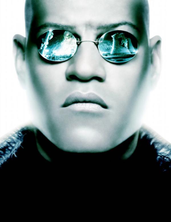 Bild 1 von 19: Matrix Reloaded mit Laurence Fishburne ...