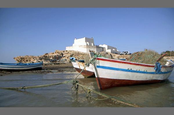 Bild 1 von 4: Die Insel Djerba vor der Küste Tunesiens